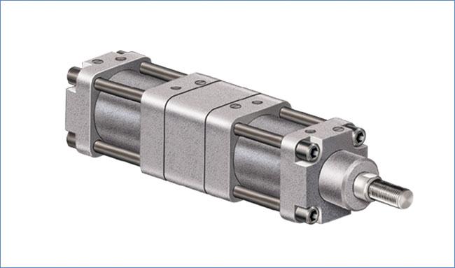 Dutta Control Gt Gt Tandem Pneumatic Cylinders Frl 500